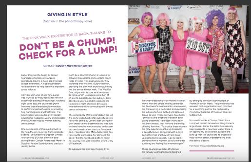 Frontdoors Magazine Cancer Survivor Edition Dont Be A Chump