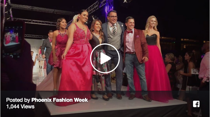 Phoenix Fashion Week Fashionably Pink!