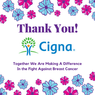 Cigna Assists in the Fight Against Breast Cancer