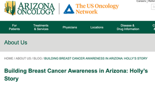 AZ Oncology Recognizes Founder Holly Rose