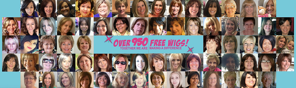 Don't be a Chump! Check for a Lump! has provided over 950 women with a free wig!