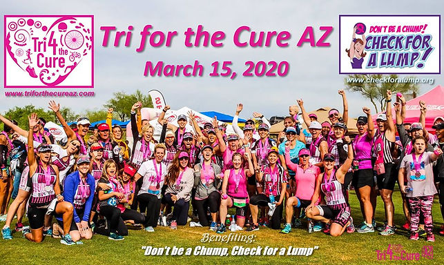 Thank you Tri For The Cure AZ and Tri Scottsdale and Diane Bruchhauser for the incredible donation o