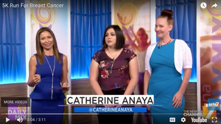 Our thanks to AZTV 7 & Catherine Anaya