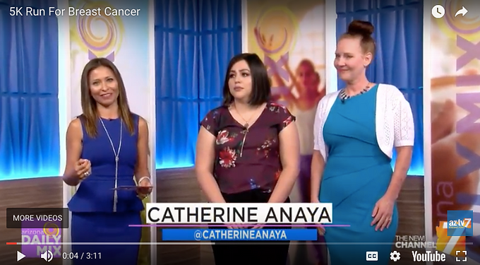 Our thanks to AZTV 7 & Catherine Anaya