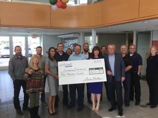 Larry H Miller Donates $10,000!!!