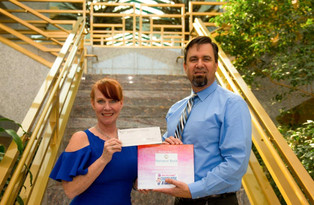 National Bank of Arizona awards us $2,500!
