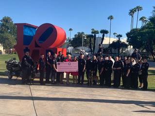Scottsdale Police and POSA Raises $3,785!!!