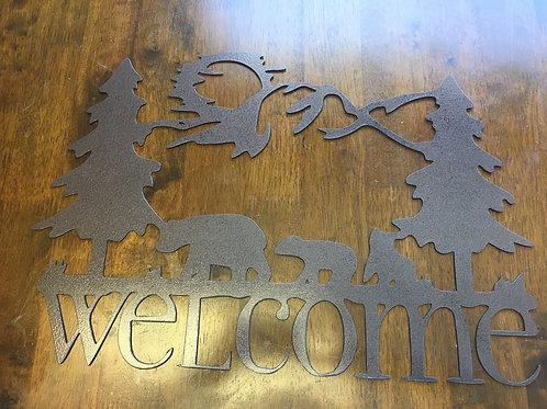 Welcome Bears Sign