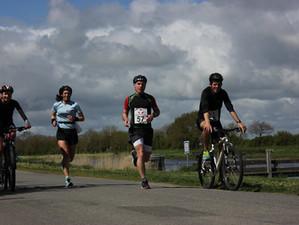 Nouveau Run&Bike au compteur pour Valérie et Gaëlle à Frossay
