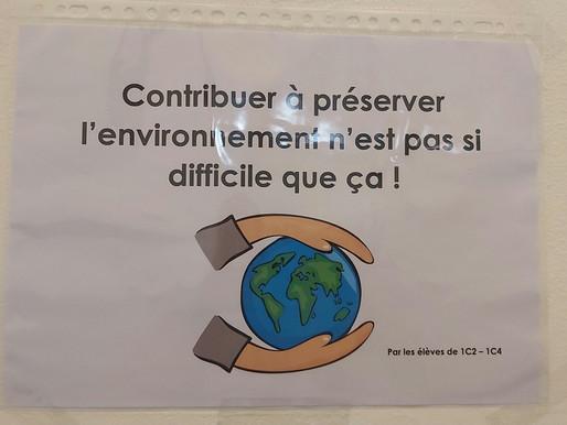 Contribuer à préserver l'environnement n'est pas si difficile que cela !