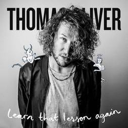 Lettering & Illustration for Thimas Oliver's album Cover