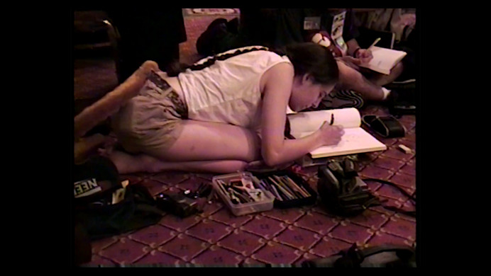 Artist at Confurence 1990s
