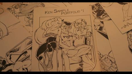 Ken Sample's Fursona