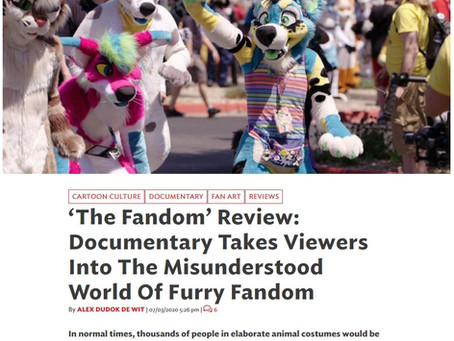 The Fandom is Featured in CartoonBrew!