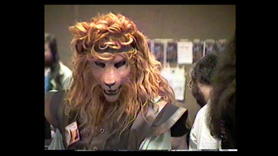 Lion Fursuit 1990s