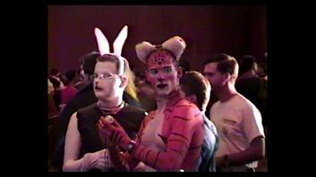 Furry Body Paint 1990s