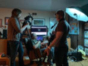 Behind the scenes - Ash and Philip Kreis