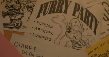 Furry Party Posters