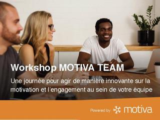 """Plaquette """"Motiva Team"""""""