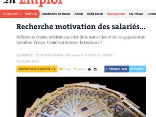 Recherche motivation des salariés…