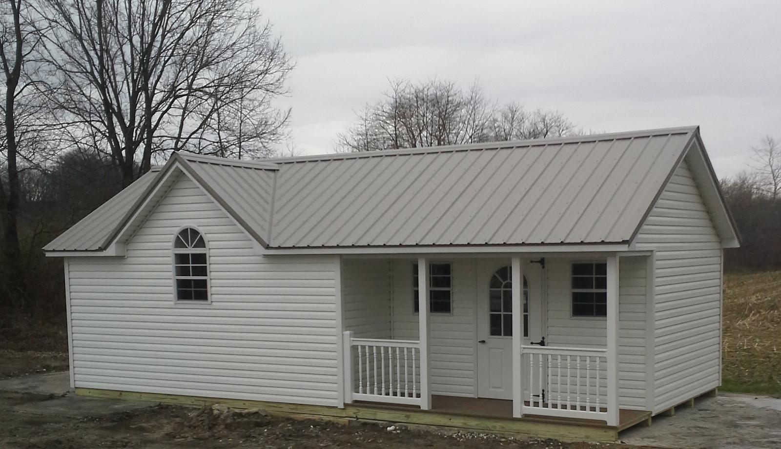 Fullscreen Page | Amish Built Sheds | Bainbridge Indiana