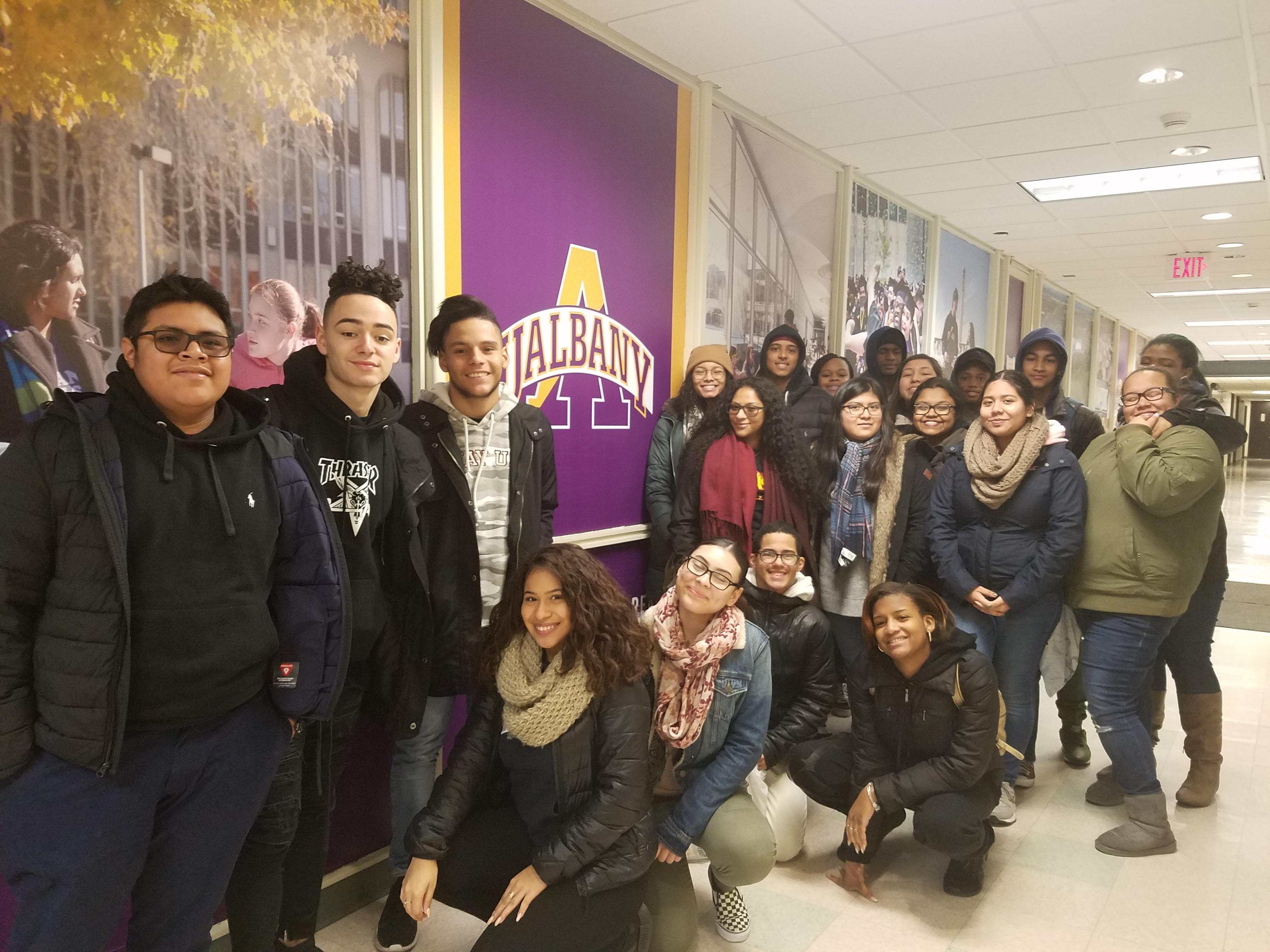 College trip to University of Albany