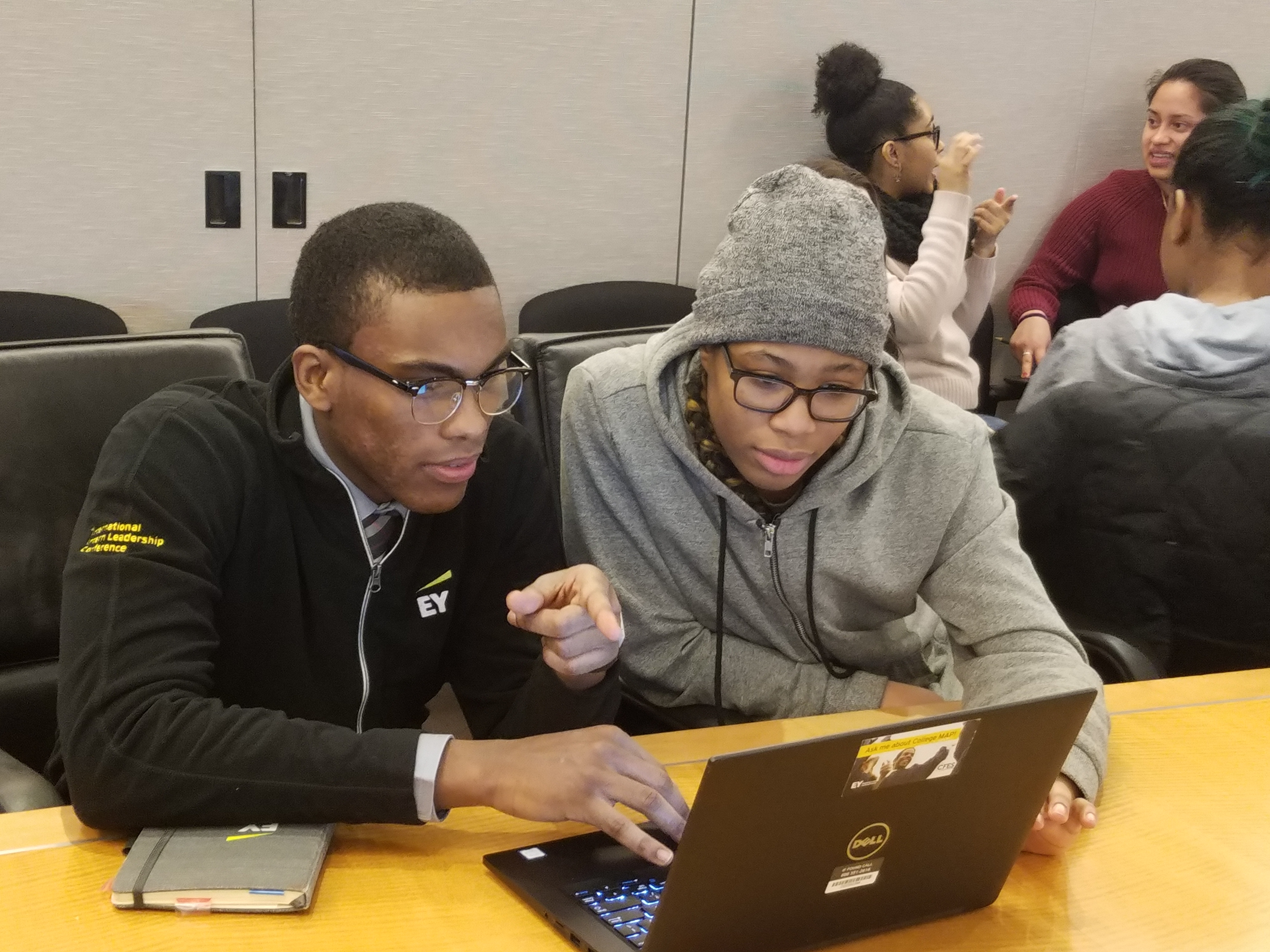 College applications with EY mentors