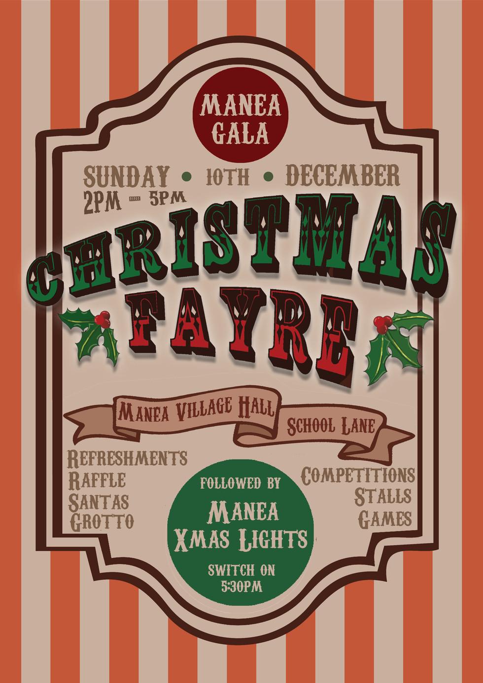 Christmas Fayre Poster