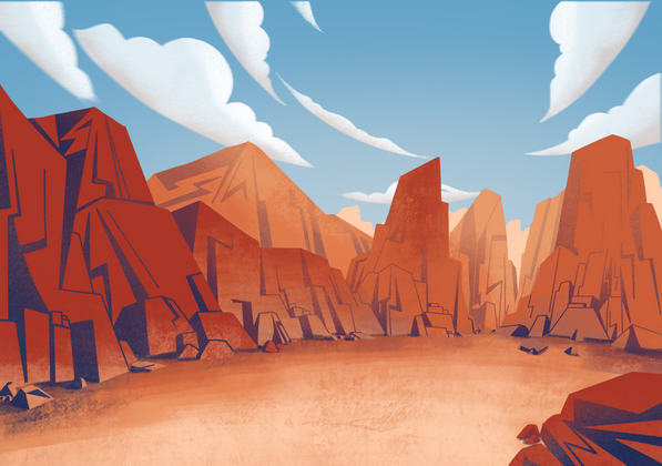 'Monster Fight' background