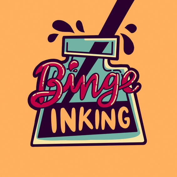 Binge Inking Logo
