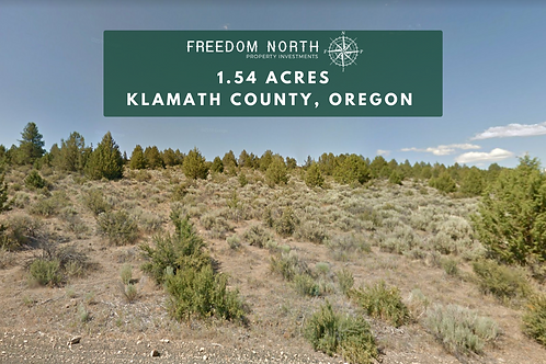 1.54-Acre Klamath County OR - Close to Spague River