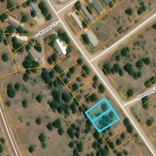 Two (2) .11 acre side by side lots in Pagosa Springs, CO