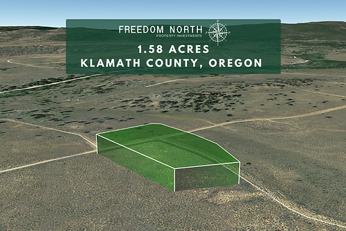1.58-acre Gem in Oregon Pines - Lots of Adventures Here