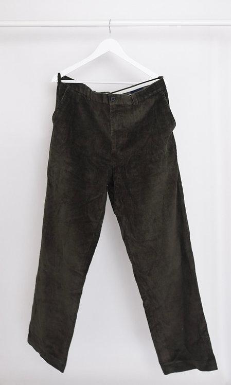 Spodnie sztruksowe