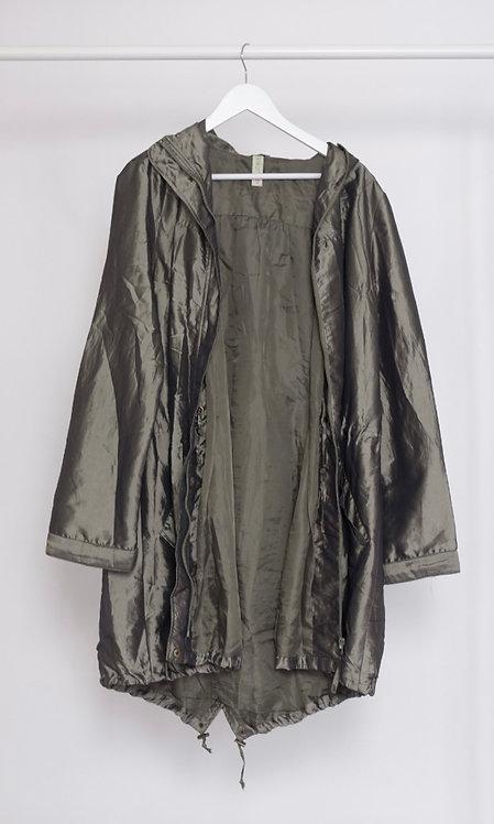 Zielona kurtka holograficzna