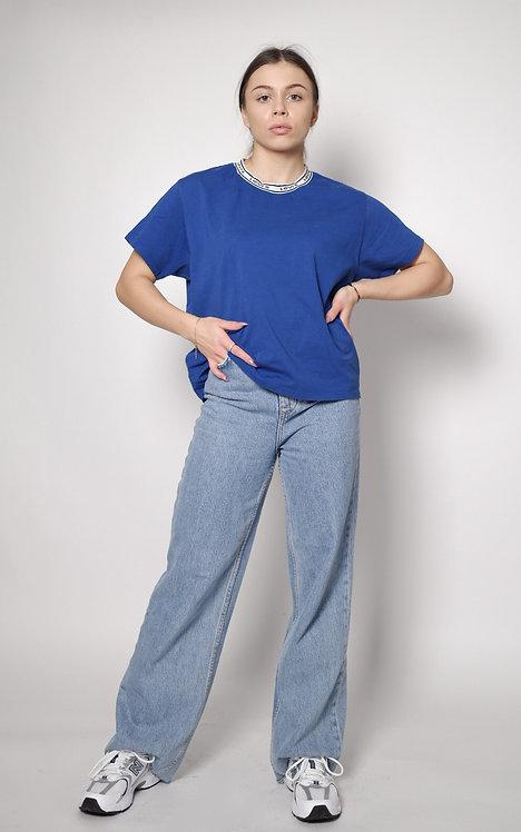 Granatowy t-shirt Levi's