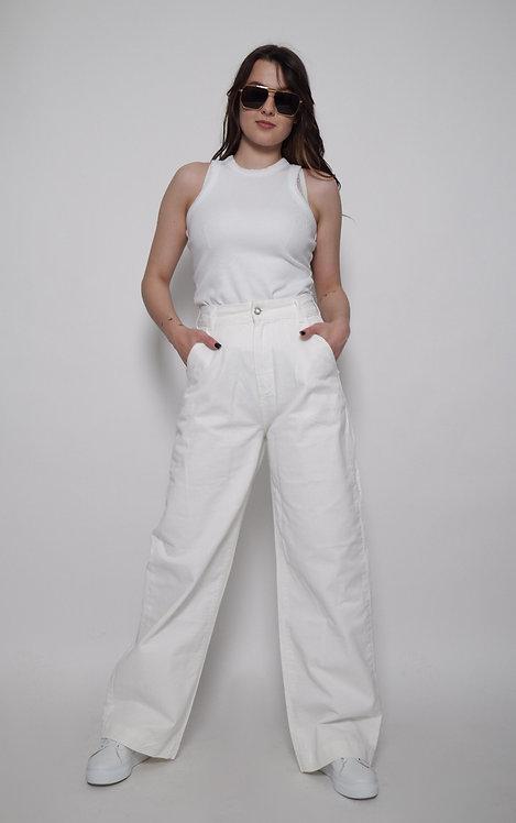Kremowe spodnie SFERA