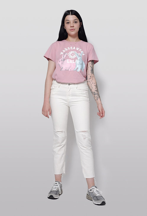 T-Shirt Warszawska Lala z króliczkami