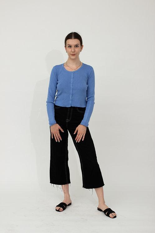 Błękitny sweterek, nowy z metką