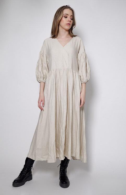 Suknia z lnu