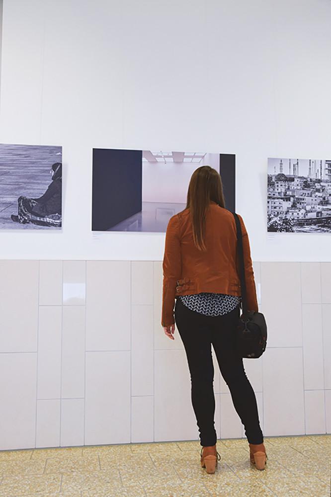 Ausstellung im Landgericht Düsseldorf, Amede Ackermann, Fotoclub Düsseldorf