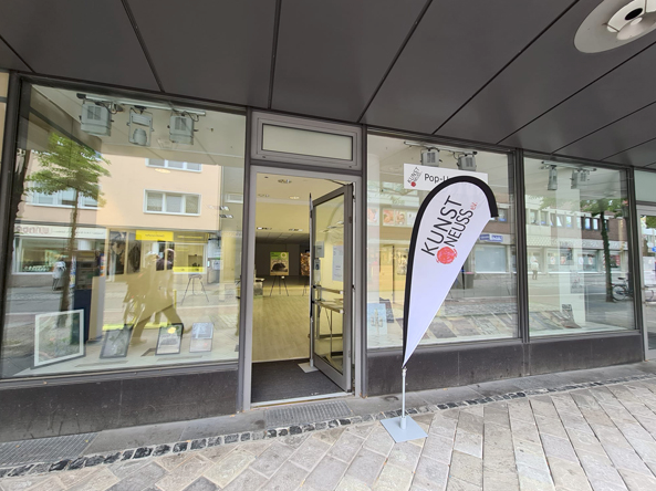 "Pop-Up-Galerie ""Bei Anruf Kunst"""