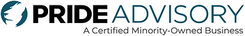 Pride Advisory Logo - Certified Minority-Owned Business
