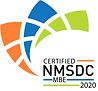 Certified NMSDC MBE 2020 logo