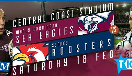 Sea Eagles V's Sydney Roosters!