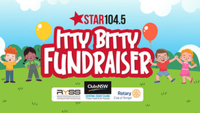 The Itty Bitty Fundraiser!