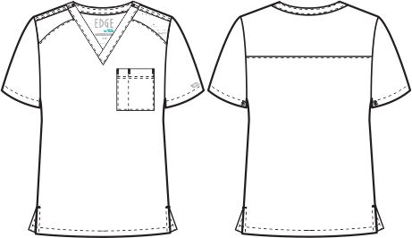 mens top sketch