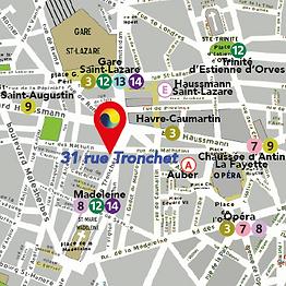 Cabinet de sophrologie Rue Tronchet Pari