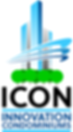 Innovation Condominiums ICON Logo