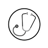 clear white circle stethoscope.png
